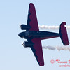 """892 - Matt Younkin performs for fans in his Beechcraft BE18 """"Twin Beech"""" at the South East Iowa Air Show in Burlington Iowa"""