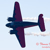 """894 - Matt Younkin performs for fans in his Beechcraft BE18 """"Twin Beech"""" at the South East Iowa Air Show in Burlington Iowa"""