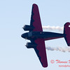 """893 - Matt Younkin performs for fans in his Beechcraft BE18 """"Twin Beech"""" at the South East Iowa Air Show in Burlington Iowa"""