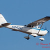 38 - A Cessna Skyhawk approaches Runway 20 for landing at Central Illinois Regional Airport - Bloomington Illinois - Sunday March 9th 2014
