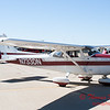 54 - A Cessna Skyhawk on the ramp at the South East Iowa Air Show in Burlington Iowa