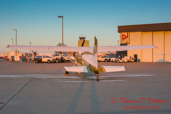 (# 10) Cessna 180J Skywagon on Byerly Aviation Ramp