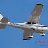 3 - A Cessna Skylane C182 approaches Central Illinois Regional Airport to land - Bloomington Illinois - Friday March 7th 2014