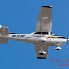 2 - A Cessna Skylane C182 approaches Central Illinois Regional Airport to land - Bloomington Illinois - Friday March 7th 2014