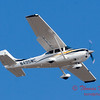 1 - A Cessna Skylane C182 approaches Central Illinois Regional Airport to land - Bloomington Illinois - Friday March 7th 2014