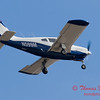 3 - A Piper Cherokee Arrow 180 approaches Central Illinois Regional Airport to land - Bloomington Illinois - Friday March 7th 2014