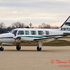 N187CB - Byerly Ramp - Greater Peoria Regional Airport - Peoria Illinois - December 17th 2009 - 3