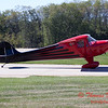 667 - Erik Edgren in his Taylorcraft returns and taxies to parking at the South East Iowa Air Show in Burlington Iowa
