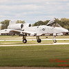 855 - A-10 East arrives at Wings over Waukegan 2012