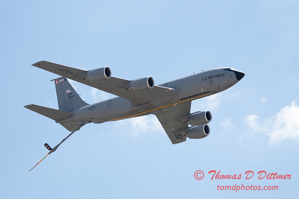 451 -  US Air Force KC 135 aerial demonstration at the 2012 Rockford Airfest - Chicago Rockford International Airport - Rockford Illinois - Sunday June 3rd 2012