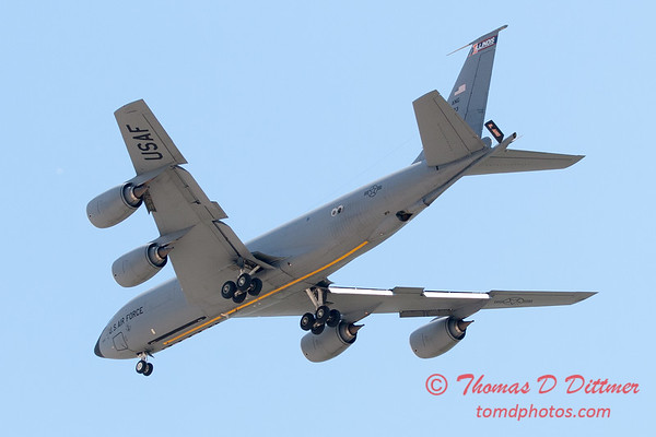 471 -  US Air Force KC 135 aerial demonstration at the 2012 Rockford Airfest - Chicago Rockford International Airport - Rockford Illinois - Sunday June 3rd 2012