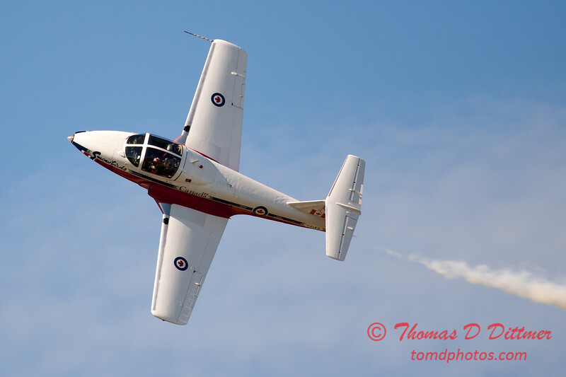 1622 - The RCAF Snowbirds performance at Wings over Waukegan 2012