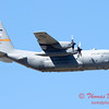 717 - A C130 Hercules flies by the South East Iowa Air Show in Burlington Iowa
