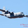 714 - A C130 Hercules flies by the South East Iowa Air Show in Burlington Iowa