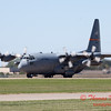 685 - A C130 Hercules taxies for departure at the South East Iowa Air Show in Burlington Iowa