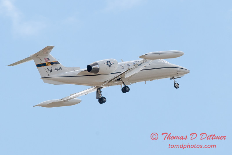 617 - US Air Force C21 departs the 2012 Rockford Airfest - Chicago Rockford International Airport - Rockford Illinois - Sunday June 3rd 2012
