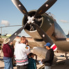 38 - Douglas A-1 Skyraider on display at Wings over Waukegan 2012