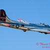 604 - B17 Flying Fortress Fly By at the South East Iowa Air Show in Burlington Iowa