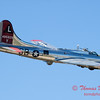 605 - B17 Flying Fortress Fly By at the South East Iowa Air Show in Burlington Iowa
