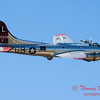 603 - B17 Flying Fortress Fly By at the South East Iowa Air Show in Burlington Iowa