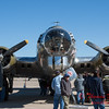 47 - A Boeing B17 Flying Fortress on display at the South East Iowa Air Show in Burlington Iowa