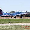 623 - B17 Flying Fortress returns and taxies for parking at the South East Iowa Air Show in Burlington Iowa