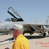 37 - The arrival of a F14 Tomcat completing its last flight -  Bloomington Illinois - April 13 2006