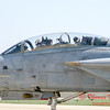 22 - The arrival of a F14 Tomcat completing its last flight -  Bloomington Illinois - April 13 2006