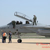 32 - The arrival of a F14 Tomcat completing its last flight -  Bloomington Illinois - April 13 2006