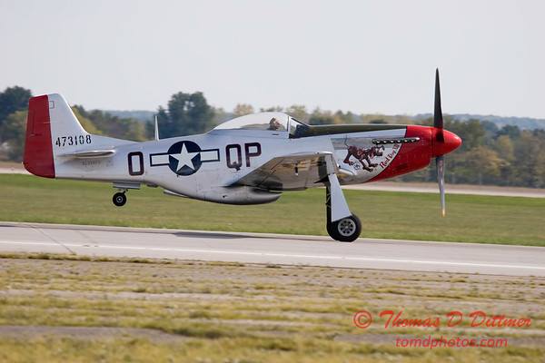 Gathering of Mustangs and Legends - Rickenbacker Airport - Port Columbus OH - Sunday September 30 2007 - 33