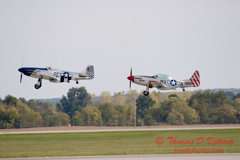 Gathering of Mustangs and Legends - Rickenbacker Airport - Port Columbus OH - Sunday September 30 2007 - 151