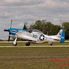 626 - Vlado Lenoch in his P-51 Mustang taxies for departure at Wings over Waukegan 2012