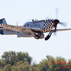 425 - P51 Mustang departure at the South East Iowa Air Show in Burlington Iowa