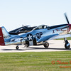 365 - A North American P51 taxies for departure at the South East Iowa Air Show in Burlington Iowa