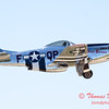 438 - P51 Mustang departure at the South East Iowa Air Show in Burlington Iowa