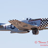 428 - P51 Mustang departure at the South East Iowa Air Show in Burlington Iowa