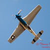 """920 - Vlado Lenoch and his P-51 executes a Victory Roll after the """"race"""" with Paul Stender and the Indy Boys School bus at Wings over Waukegan 2012"""