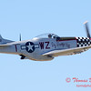 433 - P51 Mustang departure at the South East Iowa Air Show in Burlington Iowa