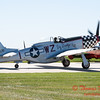 358 - A North American P51 taxies for departure at the South East Iowa Air Show in Burlington Iowa