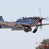 424 - P51 Mustang departure at the South East Iowa Air Show in Burlington Iowa