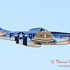 448 - P51 Mustang departure at the South East Iowa Air Show in Burlington Iowa