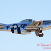 439 - P51 Mustang departure at the South East Iowa Air Show in Burlington Iowa