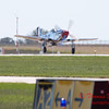 435 - P51 Mustang departure at the South East Iowa Air Show in Burlington Iowa
