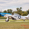 617 - Vlado Lenoch in his P-51 Mustang taxies for departure at Wings over Waukegan 2012