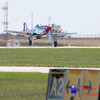 434 - P51 Mustang departure at the South East Iowa Air Show in Burlington Iowa
