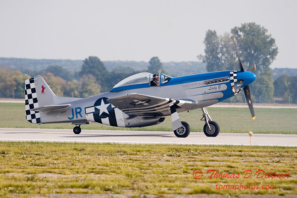 Gathering of Mustangs and Legends - Rickenbacker Airport - Port Columbus OH - Sunday September 30 2007 - 131