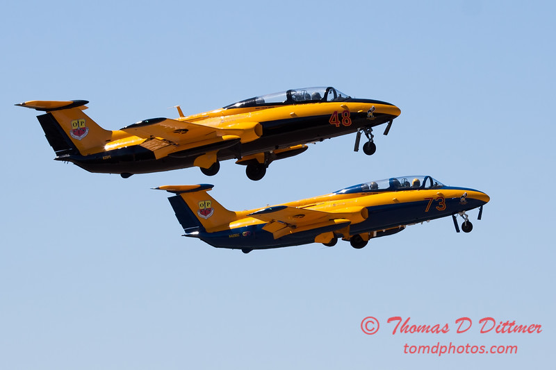 293 - The University of Iowa Operator Performance Laboratory L29 Delphins depart for their performance at the South East Iowa Air Show in Burlington Iowa