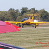 271 - The University of Iowa Operator Performance Laboratory L29 Delphins taxi for departure at the South East Iowa Air Show in Burlington Iowa