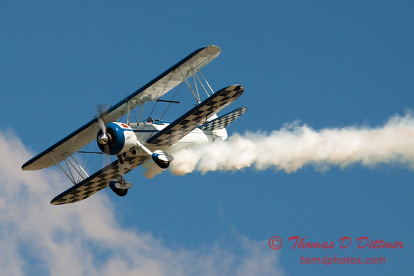 130 - Dave Dacy in his Boeing PT-17 Stearman perform at Wings over Waukegan 2012