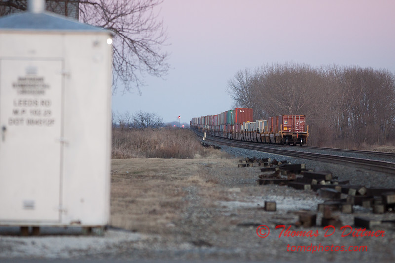 27 - BNSF railway near Wenona Illinois